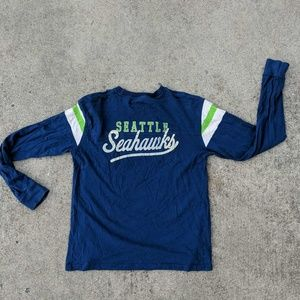 Seattle Seahawks NFL Team Apparel Unisex Shirt L/S